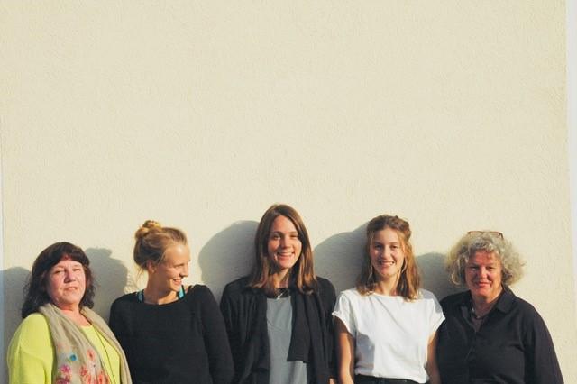 Five employees of Hestia e.V.
