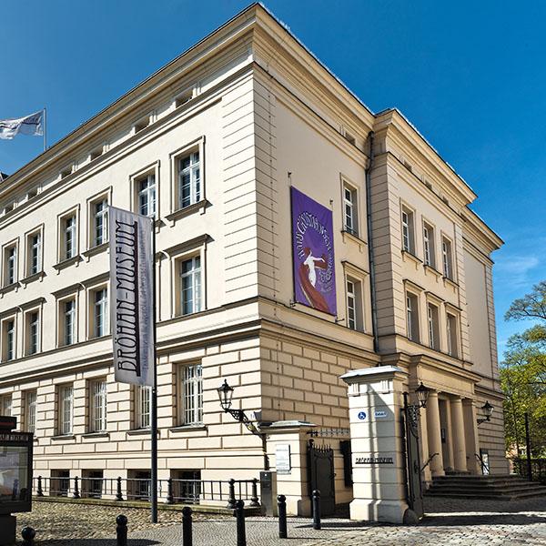 Exterior view of the Bröhan Museum Berlin